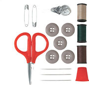 Sewing Repair Kit With Molle Pouch For Khaki Bdu Shirt Pants