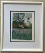 Eda Varricchio Listed Artist Limited Edition Lithograph Print Signed/numbered