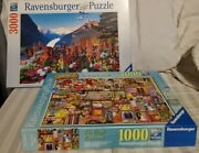 2 Ravensburger Puzzles 3000 And 1000 Piece Originals 1 New, 1 Pre Owned