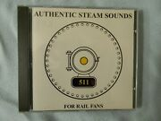 Authentic Steam Sounds For Rail Fans, Cd, Free Shipping