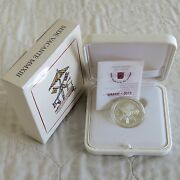 Vatican City 2013 Vacant Papal Seat Silver Proof 5 Euro - Complete