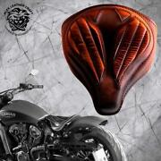Solo Seat Indian Scout Since`17+mounting Kit+springs Spider Vint Sad Tan V2 S