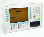 Siemens Simatic Op37 6av3637-1ml00-0bx0 6av3 637-1ml00-0bx0 E A10 Panel -used-