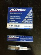 12681665 Ac Delco Professional Spark Plugs 441-993 Pack Of 4 Each