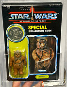 Afa 90 Kenner 1985 Star Wars Romba Potf 92-back Y-nm+ 90-90-90 Unpunched Mint