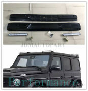W463a W464 Roof Wing Light Bar With Led Drl For Mercedes Benz G-class Black