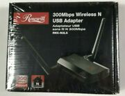 Rosewill 300 Mbps Wireless N Usb Adapter Rnx-n2lx