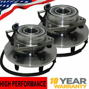 2 Front Wheel Bearing Hub For 4wd 00-02 Ford Expedition Lincoln Navigator 14mm
