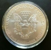 2016 American Eagle 1oz Fine Silver Coin Gem Bu From Tube To Air-tite Protector