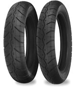 230 Tour Master Front 130/90-16 Rear 150/90-15 Tire Set Voyager Xii 1986-2003