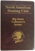 North American Hunting Club Big Game Collectorand039s Series Set Of Six Brass Coins
