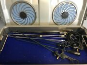 Laparoscopy Chole Surgical Instrument Tray Complete With Sterilization Tray