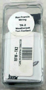 Ron Francis Wiring Tk-2 Weatherpack Two Contact Rfw-tk2 Brand New Free Shipping