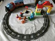 Lego Duplo 2 Sets Deluxe Train Set 10507 And 10506 Track System Accessory Kit