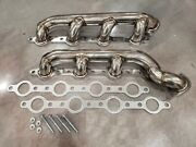 For Ford Powerstroke F250 F350 F450 7.3 Stainless Performance Headers Manifolds