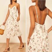 Reformation Womenand039s New Floral Dietrich A-line Sundress In Flourish Print Sz 12
