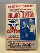 Trump Hillary Clinton Revenge Of Mistress From Hell Poster - Political Satire