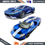 Maisto Diecast Precision Model Car Exclusive 2016 Ford Gt Scale 118 Molde Hobby