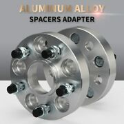 Wheel Spacer Adapter 2pcs 5x108 25/30mm Hubcentric 63.3mm Aluminum 5 Lug Durable