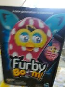 Furby Boom - Pink Polka Dot - A New Generation Is Hatching - New In Box Sealed