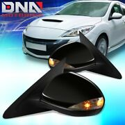 For 2010-2013 Mazda 3 Pair Oe Style Power+signal Side Door Mirror Replacement