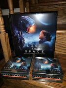 2 '19 Rittenhouse Netflix Lost In Space Season 1 Sealed Hobby Boxes + Album W P2