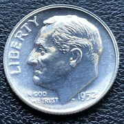 1952 Roosevelt Dime 10c Choice Proof Silver 27569