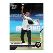 Sold Out Dr. Anthony Fauci - Mlb Topps Now® Card 2