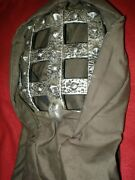 Halloween Mask Man In The Iron Mask Faux Iron Grate And Hood Full Head Cover