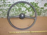 1981 Courier Pickup Truck Steering Wheel Horn Button Gray Trim 79 1980 1982 Oem