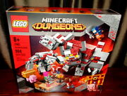 New Lego Minecraft Dungeons The Redstone Battle 21163 Building Set 504 Pieces