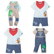 Disney Store Toy Story Woody Rex Dungaree Or Romper Outfit Overalls You Choose