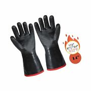 Arcliber Bbq Gloves-kitchen Oven Mitts,outdoor Barbecue Grill Baking Gloves -...