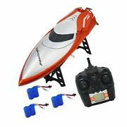 Tkkj Blomiky H106 2.4ghz Racing Rc Boat For River Lake Or Pool--high Speed Re...