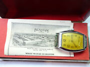 Ingraham Pal 1930's Watch And Original Box With Guarantee For Repair Or Parts