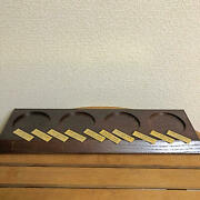 Suntory Yamazaki And Hakushu Wooden Bottle Display Not For Sale With 10 Plates F/s