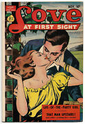 1951 Ace Love At First Sight 12 Gd/vg 3.0 Canadian Edition