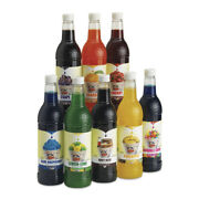 Snow Cone Syrup / Sno Cone Syrup 750ml Bottle Flip Top 10+ Flavors