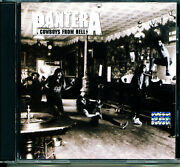 Pantera Cowboys From Hell Barcode 075679137227 Heavy Metal Groove Thrash