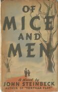 Mice And Men-john Steinbeck-1937-superior Book W/dj-very Nice Collectible