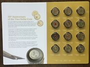 1988-2018 30th Anniversary Of The Two Dollar Coin Uncirculated Set 12 - Hot Item