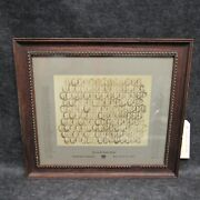 1916 Coudersport Consistory James E. Covey Class Photograph Picture Framed