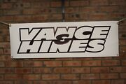 Vance And Hines Exhaust Sportster Large Pvc Garage Work Shop Banner