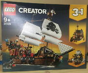Lego Creator 3-in-1 Pirate Ship 31109. Nib And Factory-sealed