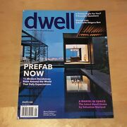 Dwell Magazine Jan 2014 At Home In The Modern World Prefab Marvel In Venice
