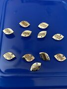 1970 Coastal Trucking Years 5-15 Safe Driver Employee 11 Pins Sterling Silv 11gs