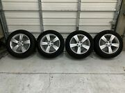 Four 4 Genuine Land Rover 19 Velar Rims Tires And Caps--new Take Offand039s Lr091536