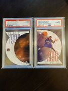 Tracy Mcgrady 1997 Upper Deck Rc Rookie Discovery I And Ii R9 And D9 Psa 10 Lot X2