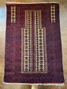 Antiques Rugs And Carpets Vintage Balouch Tribal Rug Afghanistan, C.1960-70