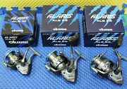 Okuma Alaris Spinning Reels Als-45 55 And 65 Series Choose Your Size